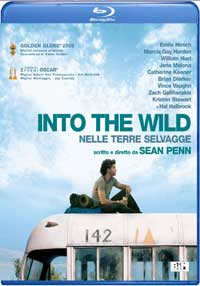 Locandina Into the wild - blu ray