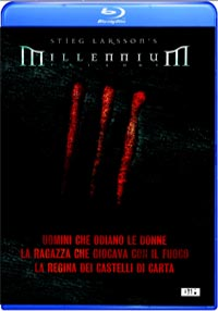 Locandina Millennium trilogy collection - blu-ray disc